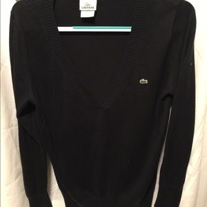 Ladies Lacoste sweater.